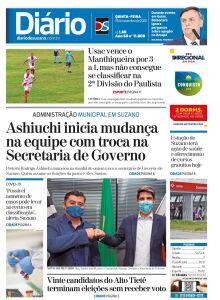 Jornal Diário de Suzano - 19/11/2020