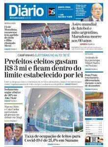 Jornal Diário de Suzano - 26/11/2020