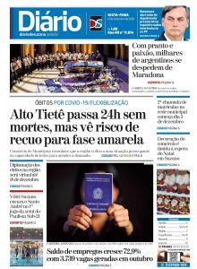 Jornal Diário de Suzano - 27/11/2020
