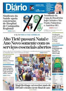 Jornal Diário de Suzano - 23/12/2020