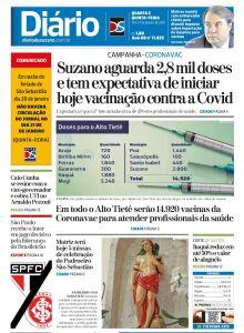 Jornal Diário de Suzano - 20/01/2021