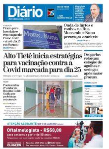 Jornal Diário de Suzano - 08/01/2021