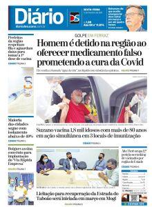 Jornal Diário de Suzano - 12/02/2021