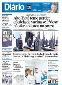 Jornal Diário de Suzano - 26/02/2021
