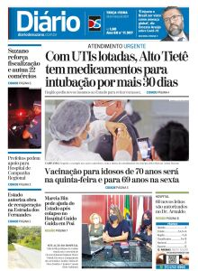 Jornal Diário de Suzano - 23/03/2021