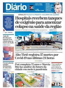 Jornal Diário de Suzano - 26/03/2021