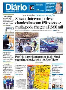 Jornal Diário de Suzano - 30/03/2021