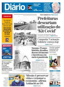 Jornal Diário de Suzano - 02/04/2021