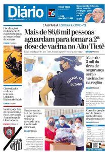 Jornal Diário de Suzano - 06/04/2021