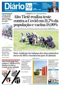 Jornal Diário de Suzano - 05/06/2021