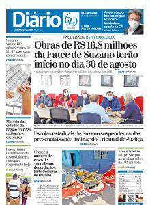 Jornal Diário de Suzano - 20/08/2021