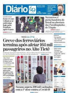 Jornal Diário de Suzano - 25/08/2021