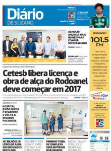Jornal Diário de Suzano - 10/12/2016