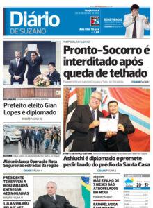 Jornal Diário de Suzano - 20/12/2016
