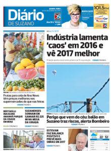 Jornal Diário de Suzano - 28/12/2016