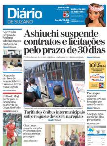 Jornal Diário de Suzano - 05/01/2017