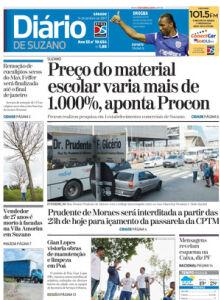 Jornal Diário de Suzano - 13/01/2017