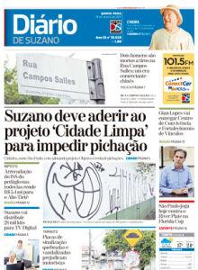 Jornal Diário de Suzano - 18/01/2017