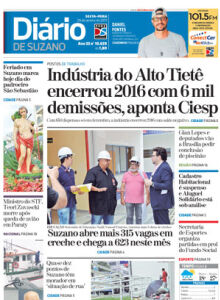 Jornal Diário de Suzano - 19/01/2017