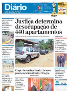 Jornal Diário de Suzano - 24/01/2017