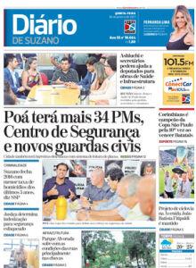 Jornal Diário de Suzano - 25/01/2017