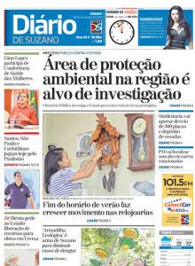 Jornal Diário de Suzano - 18/02/2017