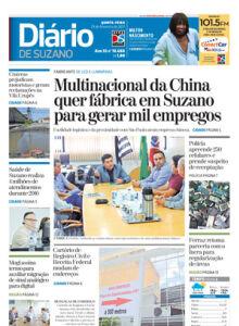 Jornal Diário de Suzano - 22/02/2017