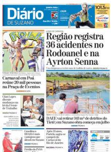 Jornal Diário de Suzano - 02/03/2017