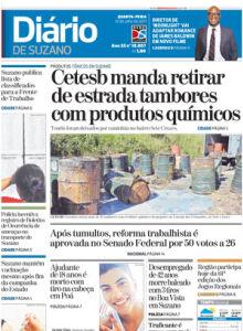 Jornal Diário de Suzano - 12/07/2017