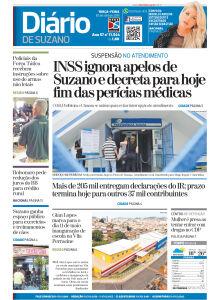 Jornal Diário de Suzano - 29/04/2019