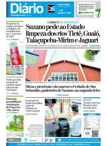 Jornal Diário de Suzano - 16/01/2020