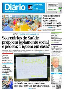 Jornal Diário de Suzano - 16/03/2020