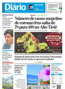 Jornal Diário de Suzano - 17/03/2020