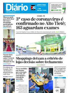 Jornal Diário de Suzano - 18/03/2020