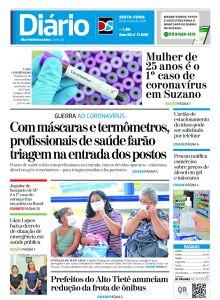 Jornal Diário de Suzano - 19/03/2020