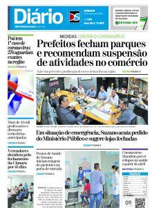 Jornal Diário de Suzano - 20/03/2020