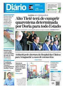 Jornal Diário de Suzano - 21/03/2020