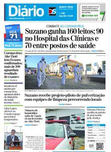 Jornal Diário de Suzano - 25/03/2020