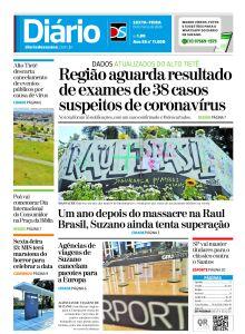 Jornal Diário de Suzano - 13/03/2020