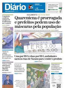 Jornal Diário de Suzano - 17/04/2020