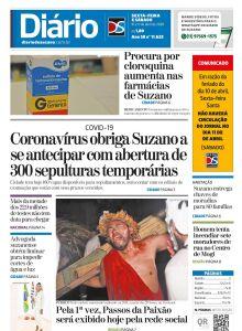 Jornal Diário de Suzano - 09/04/2020