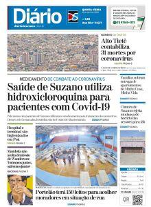 Jornal Diário de Suzano - 15/04/2020
