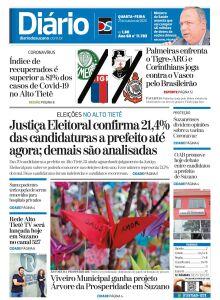 Jornal Diário de Suzano - 21/10/2020
