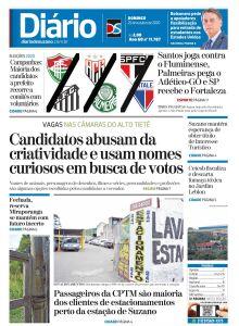 Jornal Diário de Suzano - 25/10/2020