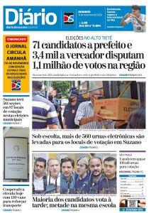 Jornal Diário de Suzano - 15/11/2020
