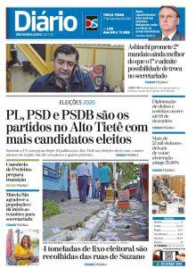 Jornal Diário de Suzano - 17/11/2020