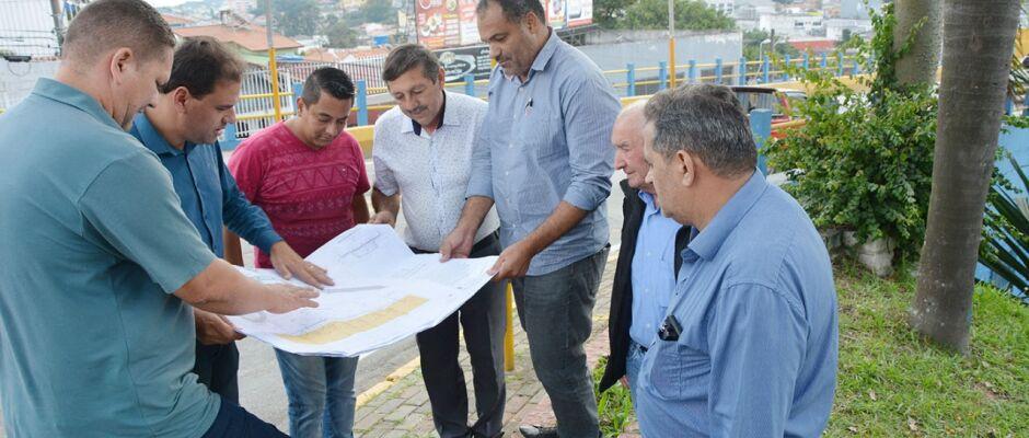 Poá: Gian Lopes realiza vistoria técnica em área do novo viaduto