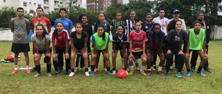 União Mogi realiza hoje 2ª etapa de peneira para time feminino