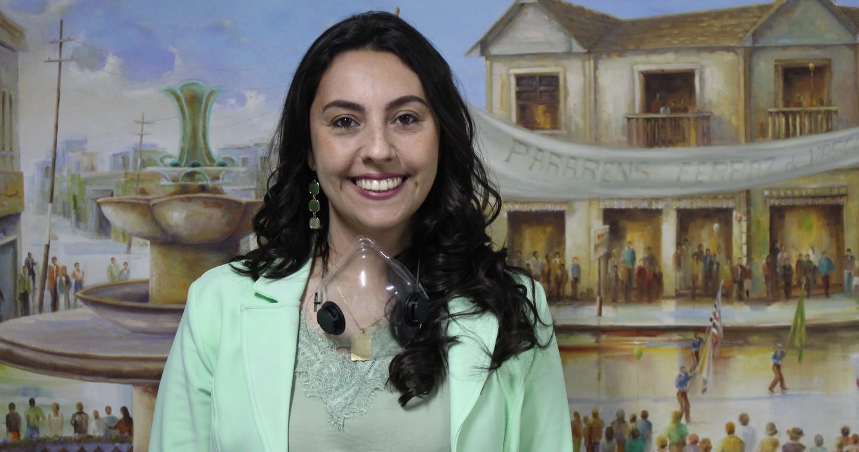 Priscila esteve ontem na Prefeitura de Ferraz para iniciar processo de transição