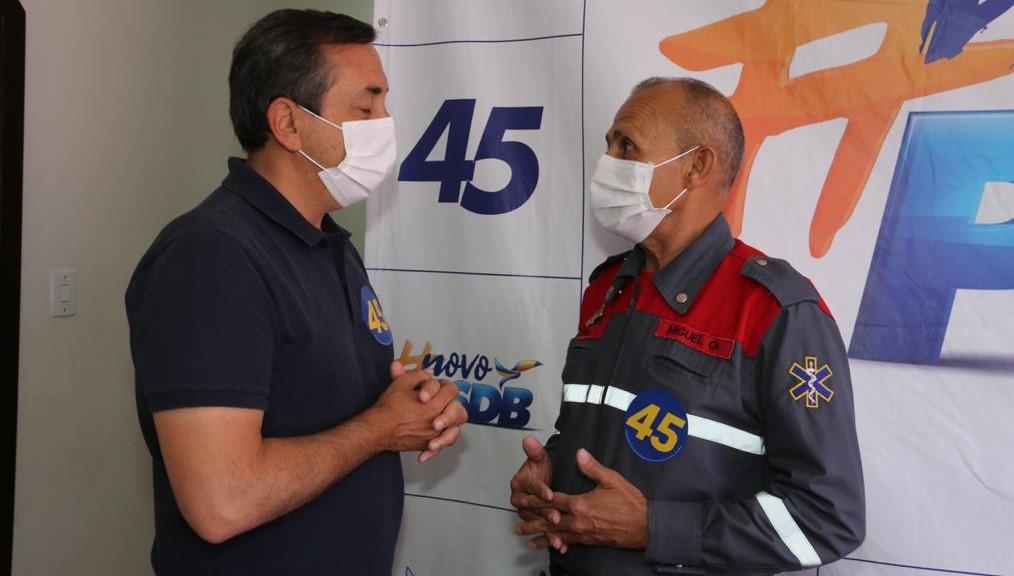 Miguel Bombeiro e Michael Della Torre declaram apoio a Marcus Melo no 2º turno